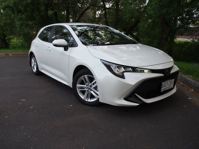 Demo Toyota Corolla Mzea12R Ascent Sport, 2019 Toyota Corolla Mzea12R Ascent Sport Crystal Pearl 10 Speed Constant Variable Hatchback