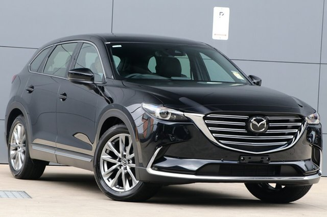 New Mazda CX-9 TC Azami SKYACTIV-Drive i-ACTIV AWD, 2019 Mazda CX-9 TC Azami SKYACTIV-Drive i-ACTIV AWD Jet Black 6 Speed Sports Automatic Wagon