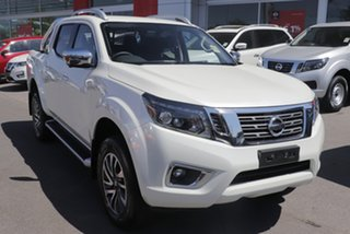 2020 Nissan Navara D23 MY21 ST-X White Diamond 7 Speed Sports Automatic Utility.