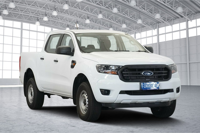 Used Ford Ranger PX MkIII 2019.00MY XL Pick-up Double Cab, 2018 Ford Ranger PX MkIII 2019.00MY XL Pick-up Double Cab White 6 Speed Sports Automatic Utility