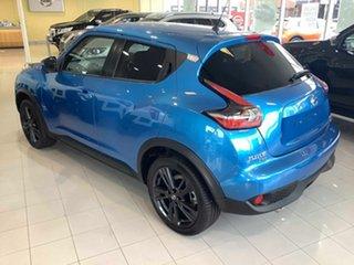 2018 Nissan Juke F15 Series 2 Ti-S X-tronic AWD Vivid Blue 1 Speed Constant Variable Hatchback.