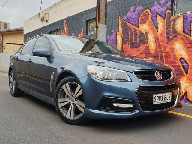 Used Holden Commodore VF MY14 SV6, 2014 Holden Commodore VF MY14 SV6 Blue 6 Speed Sports Automatic Sedan