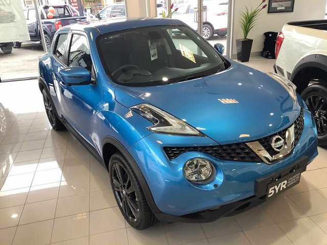 Demo Nissan Juke F15 Series 2 Ti-S X-tronic AWD, 2018 Nissan Juke F15 Series 2 Ti-S X-tronic AWD Vivid Blue 1 Speed Constant Variable Hatchback