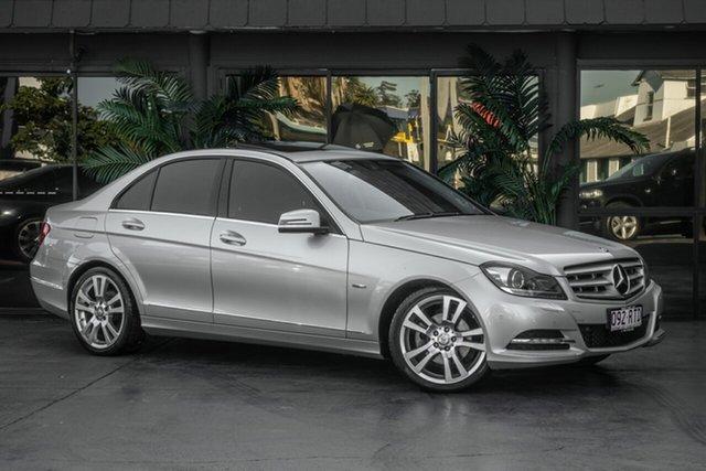 Used Mercedes-Benz C-Class W204 MY11 C250 BlueEFFICIENCY 7G-Tronic + Avantgarde, 2011 Mercedes-Benz C-Class W204 MY11 C250 BlueEFFICIENCY 7G-Tronic + Avantgarde Silver 7 Speed