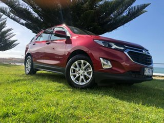 2018 Holden Equinox EQ MY18 LS FWD Glory Red 6 Speed Sports Automatic Wagon.