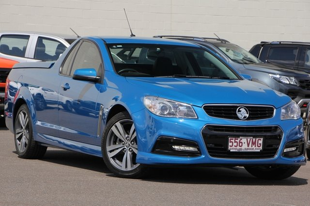 Used Holden Ute VF MY15 SV6 Ute, 2015 Holden Ute VF MY15 SV6 Ute Blue 6 Speed Sports Automatic Utility