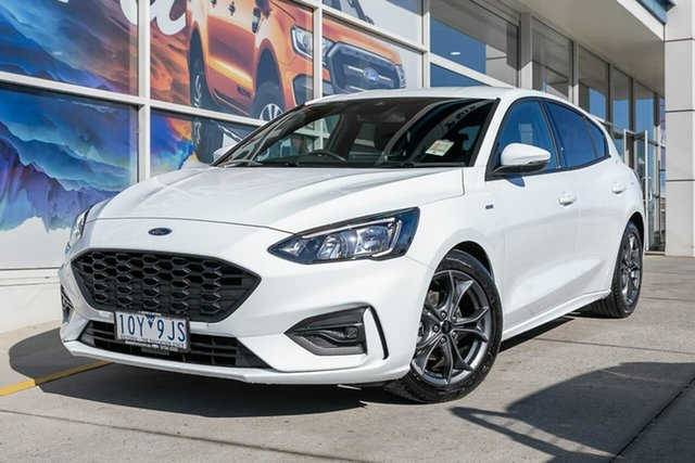Demo Ford Focus SA 2019.25MY ST-Line, 2019 Ford Focus SA 2019.25MY ST-Line White 8 Speed Automatic Hatchback