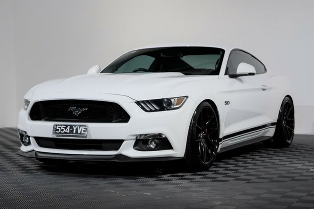 Used Ford Mustang FM 2017MY GT Fastback, 2017 Ford Mustang FM 2017MY GT Fastback White 6 Speed Manual Fastback