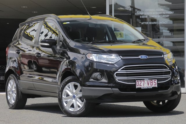 Used Ford Ecosport BK Trend, 2014 Ford Ecosport BK Trend Black 5 Speed Manual Wagon