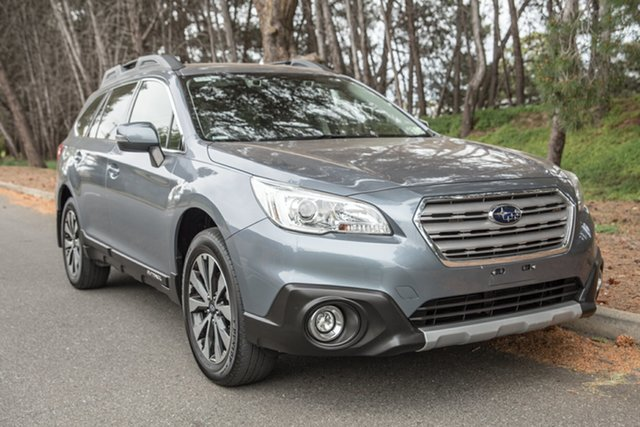 Used Subaru Outback B6A MY16 2.5i CVT AWD, 2016 Subaru Outback B6A MY16 2.5i CVT AWD Grey 6 Speed Constant Variable Wagon