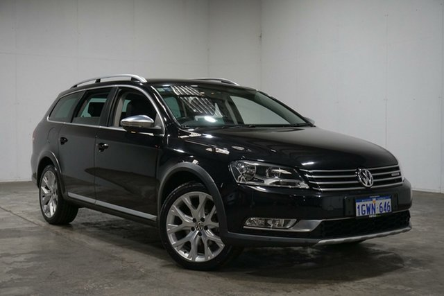 Used Volkswagen Passat Type 3C MY13.5 Alltrack DSG 4MOTION, 2013 Volkswagen Passat Type 3C MY13.5 Alltrack DSG 4MOTION Deep Black 6 Speed