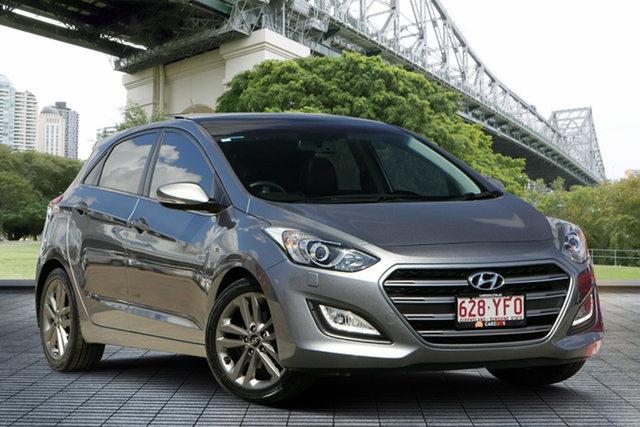 Used Hyundai i30 GD3 Series II MY16 SR Premium, 2015 Hyundai i30 GD3 Series II MY16 SR Premium Grey 6 Speed Sports Automatic Hatchback