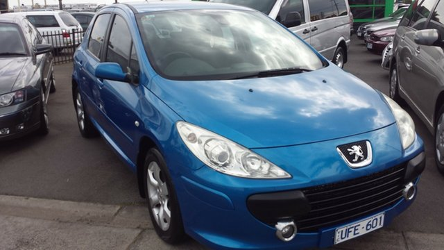 Used Peugeot 307 T6 XSE HDi, 2005 Peugeot 307 T6 XSE HDi Blue 6 Speed Manual Hatchback