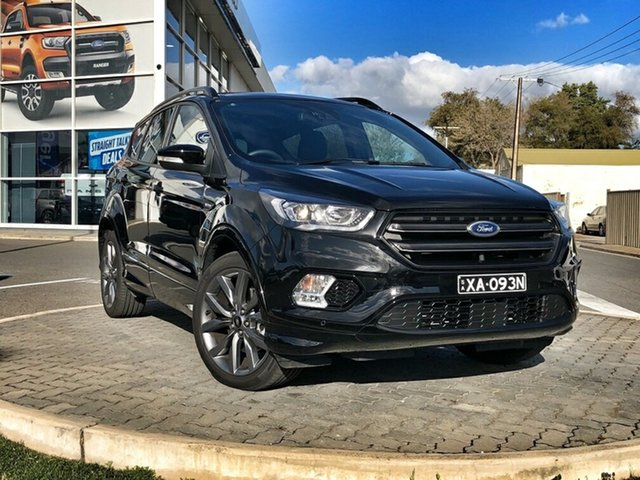 New Ford Escape ZG 2019.25MY ST-Line AWD, 2019 Ford Escape ZG 2019.25MY ST-Line AWD Shadow Black 6 Speed Sports Automatic Wagon