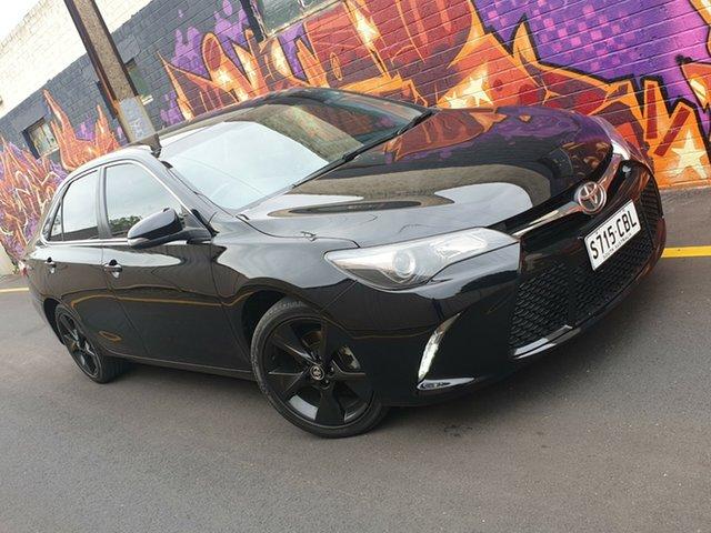 Used Toyota Camry ASV50R Atara SX, 2016 Toyota Camry ASV50R Atara SX Black 6 Speed Sports Automatic Sedan
