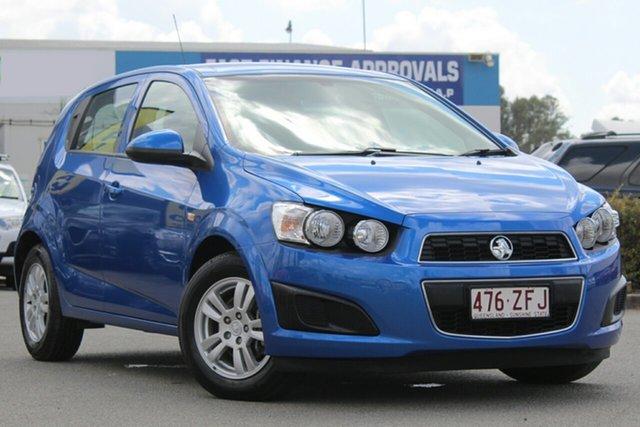 Used Holden Barina TM MY15 CD, 2015 Holden Barina TM MY15 CD Boracay Blue 5 Speed Manual Hatchback