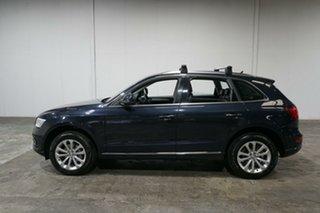 2014 Audi Q5 8R MY15 TDI S Tronic Quattro Blue 7 Speed Sports Automatic Dual Clutch Wagon.