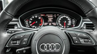2016 Audi A4 B9 8W MY16 Sport S Tronic Black 7 Speed Sports Automatic Dual Clutch Sedan