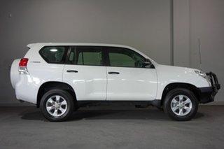 2010 Toyota Landcruiser Prado KDJ150R GX White 6 Speed Manual Wagon