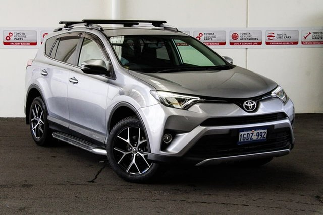 Used Toyota RAV4 ZSA42R MY17 GXL (2WD), 2016 Toyota RAV4 ZSA42R MY17 GXL (2WD) Silver Sky Continuous Variable Wagon
