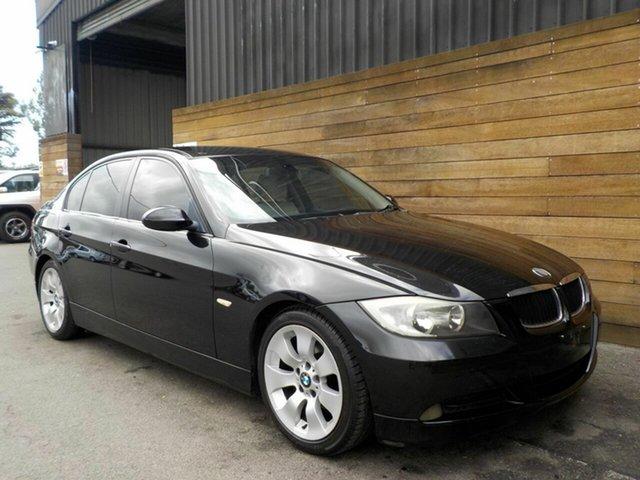 Used BMW 3 Series E90 320i Executive, 2005 BMW 3 Series E90 320i Executive Black 6 Speed Manual Sedan