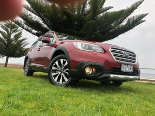 2017 Subaru Outback B6A MY17 2.5i CVT AWD Premium Burgundy 6 Speed Constant Variable Wagon.