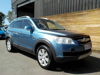 2008 Holden Captiva CG MY08 LX AWD Blue 5 Speed Sports Automatic Wagon.