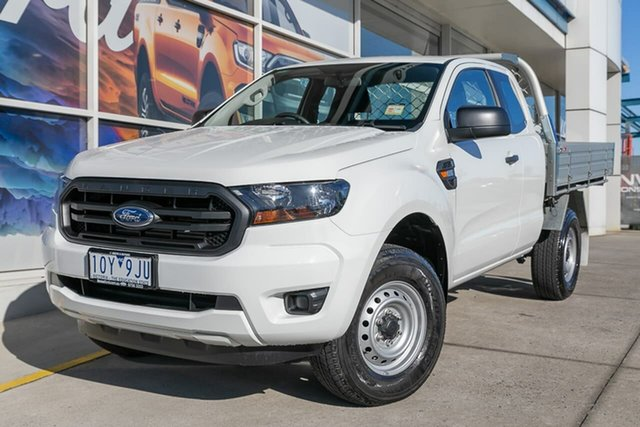 Demo Ford Ranger PX MkIII 2019.00MY XL Super Cab 4x2 Hi-Rider, 2018 Ford Ranger PX MkIII 2019.00MY XL Super Cab 4x2 Hi-Rider White 6 Speed Sports Automatic