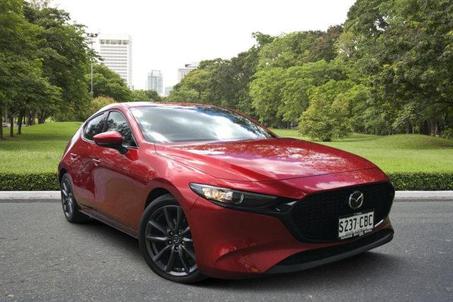Demo Mazda 3 BP2HL6 G25 SKYACTIV-MT GT, 2019 Mazda 3 BP2HL6 G25 SKYACTIV-MT GT Soul Red 6 Speed Manual Hatchback