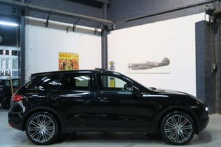 2010 Porsche Cayenne 92A MY11 Turbo Tiptronic Black 8 Speed Sports Automatic Wagon.