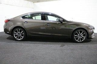 2017 Mazda 6 GL1031 GT SKYACTIV-Drive Silver 6 Speed Sports Automatic Sedan.