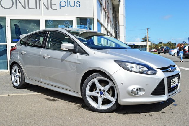 Used Ford Focus LW Titanium PwrShift, 2012 Ford Focus LW Titanium PwrShift Silver 6 Speed Sports Automatic Dual Clutch Hatchback