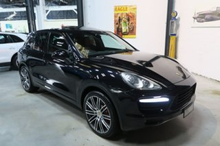 2010 Porsche Cayenne 92A MY11 Turbo Tiptronic Black 8 Speed Sports Automatic Wagon