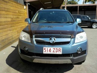 2008 Holden Captiva CG MY08 LX AWD Blue 5 Speed Sports Automatic Wagon