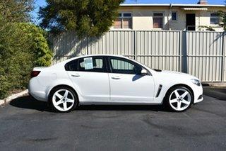 2016 Holden Commodore VF II MY16 Evoke Heron White 6 Speed Sports Automatic Sedan.