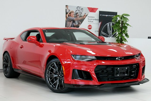 New Chevrolet Camaro MY19 ZL1, 2019 Chevrolet Camaro MY19 ZL1 Garnet Red 10 Speed Sports Automatic Coupe