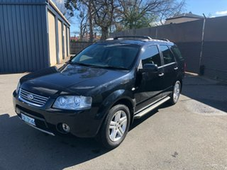 2005 Ford Territory SX Ghia AWD Black 4 Speed Sports Automatic Wagon.