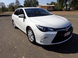 2015 Toyota Camry ASV50R MY15 Atara S Diamond White 6 Speed Automatic Sedan.