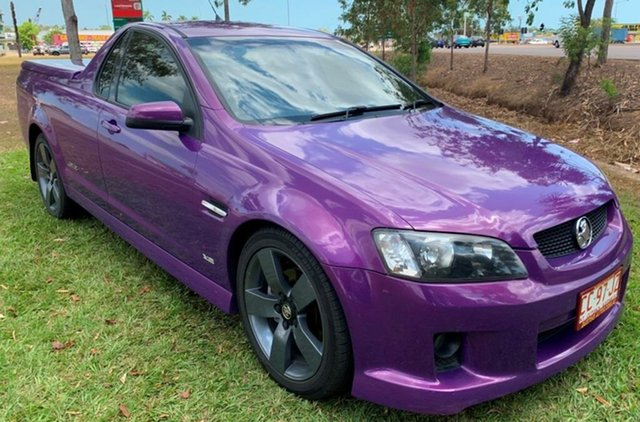 Used Holden Ute VE SS V, 2008 Holden Ute VE SS V Purple 6 Speed Sports Automatic Utility