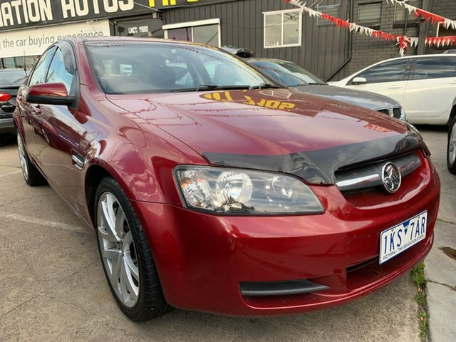 Used Holden Commodore VE MY09 Omega, 2008 Holden Commodore VE MY09 Omega Red 4 Speed Automatic Sedan