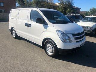 2014 Hyundai iLOAD TQ MY14 White 6 Speed Manual Van.