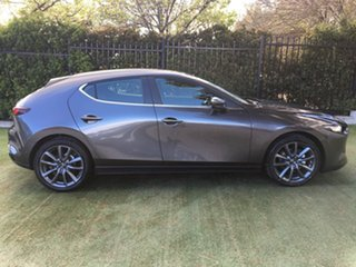 2019 Mazda 3 BP2HLA G25 SKYACTIV-Drive Evolve Machine Grey 6 Speed Sports Automatic Hatchback.