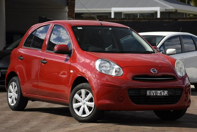Used Nissan Micra K12 , 2010 Nissan Micra K12 Red 4 Speed Automatic Hatchback