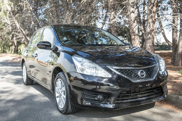 Used Nissan Pulsar C12 Series 2 ST, 2016 Nissan Pulsar C12 Series 2 ST Black 1 Speed Constant Variable Hatchback
