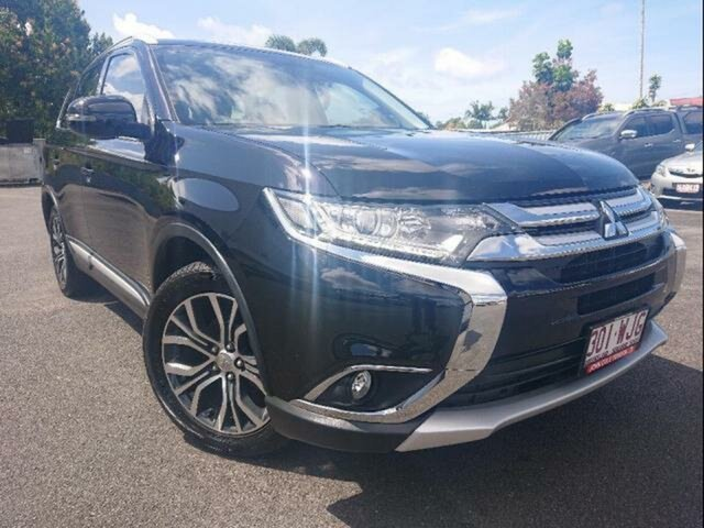 Used Mitsubishi Outlander ZK MY16 XLS (4x4), 2015 Mitsubishi Outlander ZK MY16 XLS (4x4) Black 6 Speed Automatic Wagon