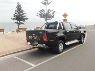 2007 Toyota Hilux GGN25R MY07 SR Black 5 Speed Automatic Utility