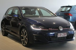2018 Volkswagen Golf 7.5 MY19 GTI DSG Atlantic Blue 7 Speed Sports Automatic Dual Clutch Hatchback.