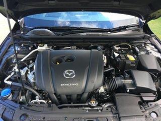 2019 Mazda 3 BP2HLA G25 SKYACTIV-Drive Evolve Machine Grey 6 Speed Sports Automatic Hatchback