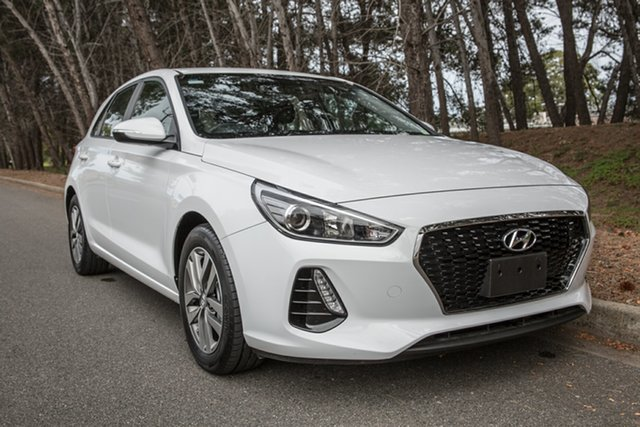 Used Hyundai i30 PD MY18 Active, 2017 Hyundai i30 PD MY18 Active White 6 Speed Sports Automatic Hatchback