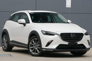 1220 Mazda CX-3 DK4W7A Akari SKYACTIV-Drive i-ACTIV AWD LE White 6 Speed Sports Automatic Wagon.